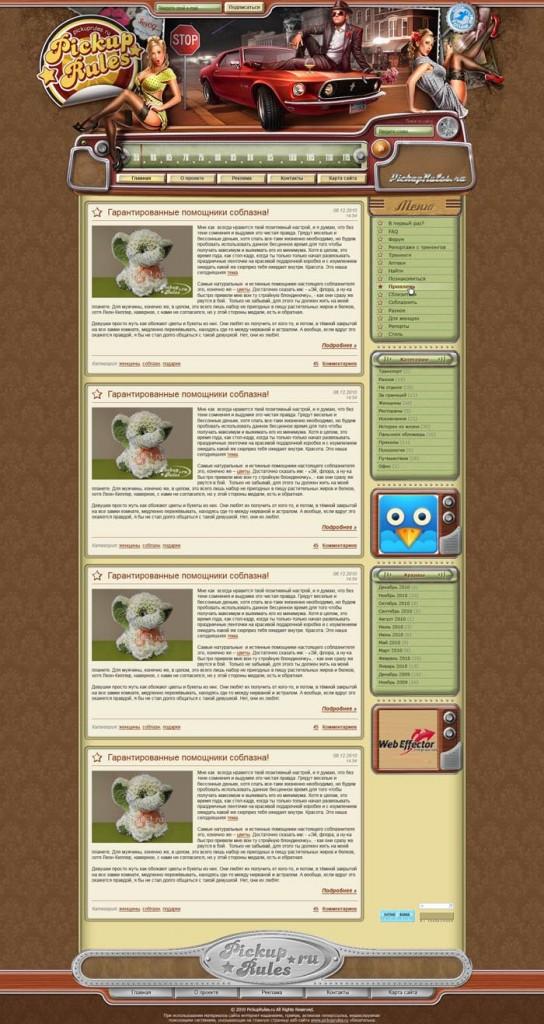 Модель блога