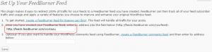 Рост подписчиков на feedburner