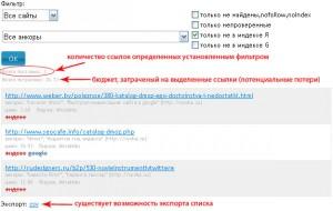 Как работает фильтр проверки наличия в индексе Яндекса