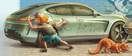 Авто на блоге Вовки