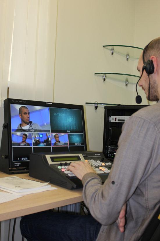 Контроль за качеством записи и сама запись на Seopult TV