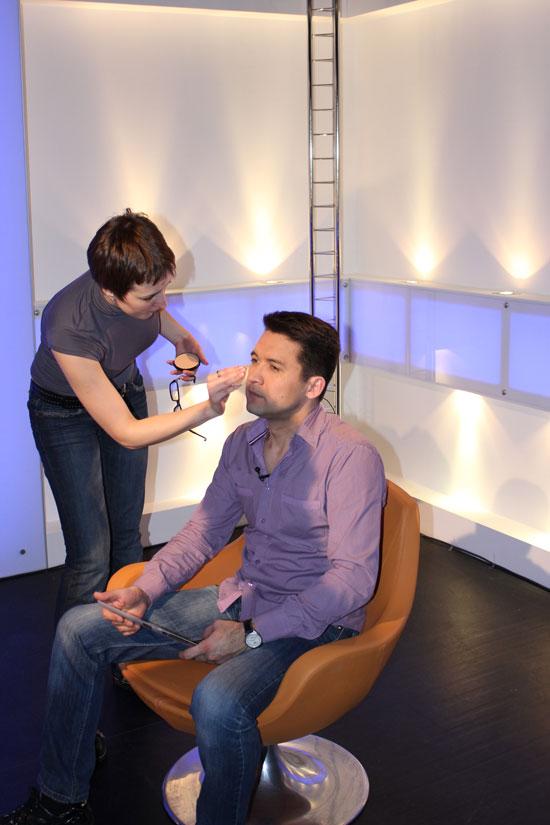 Подготовка Наиля Байкова к передаче на Seopult TV