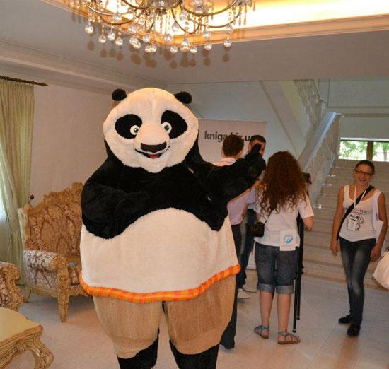 panda на конференции  8p