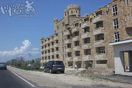 Красивый замок по дороге на конференцию 8p