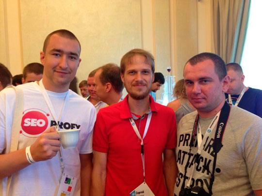 Сергей Кокшаров, Виктор Карпенко и Вовка