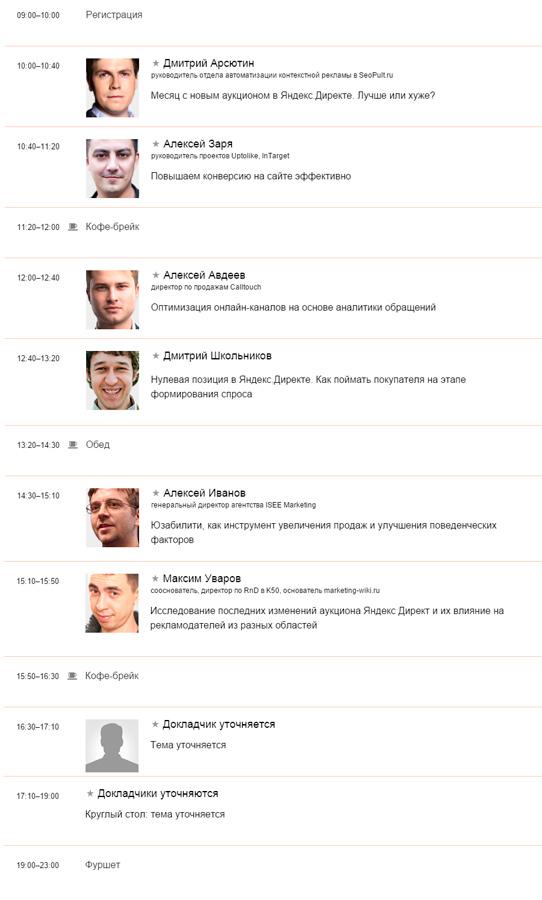 Digital-поток на конференции CyberMarketing 2015