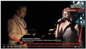 Реклама в видео на YouTube